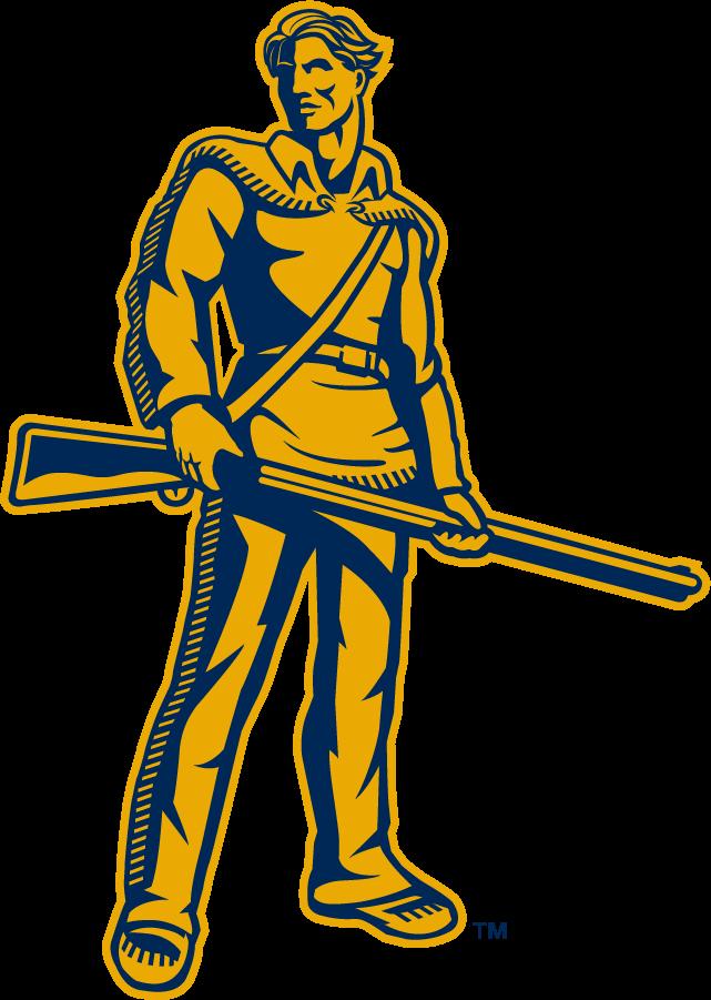 West Virginia Mountaineers Logo Secondary Logo (2002-Pres) - Mountaineer SportsLogos.Net