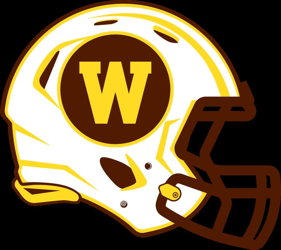 Western Michigan Broncos Helmet Helmet (2021-Pres) -  SportsLogos.Net