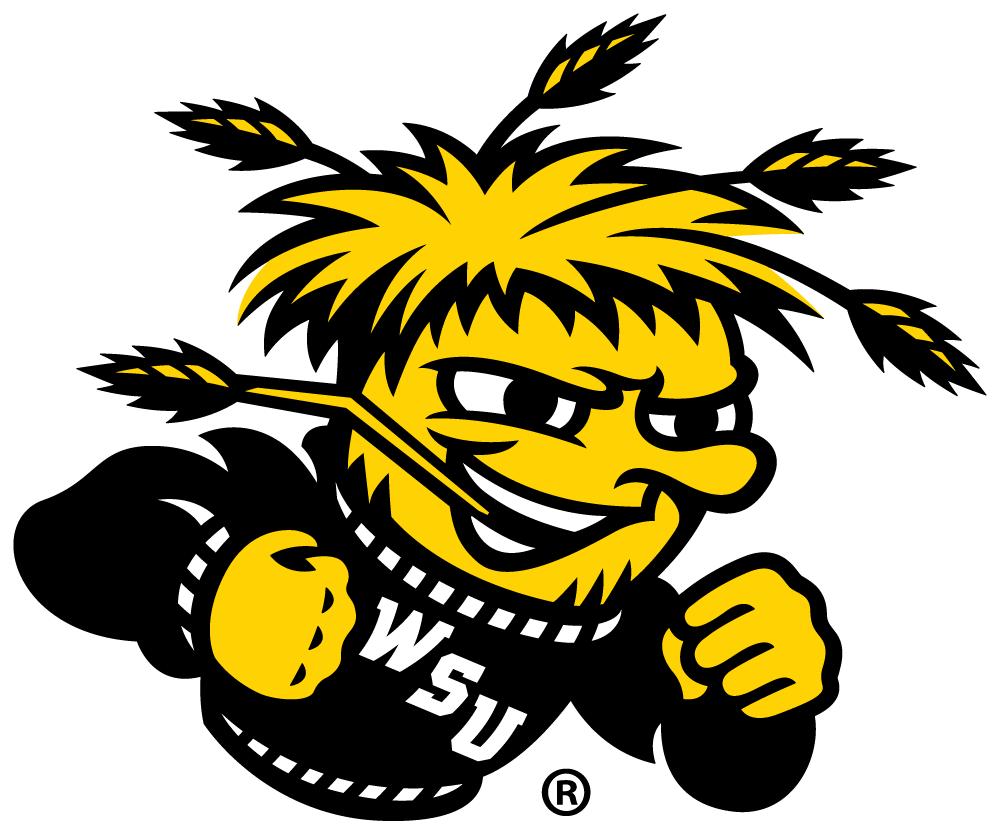 Wichita State Shockers Logo Primary Logo (2010-Pres) - WSU mascot - WuShock  SportsLogos.Net
