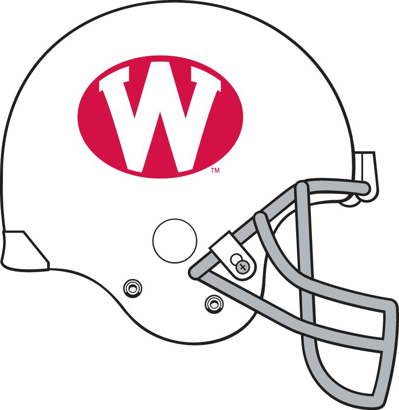 Wisconsin Badgers Helmet Helmet (1972-1974) -  SportsLogos.Net