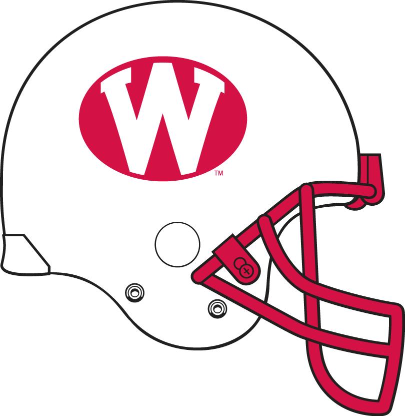 Wisconsin Badgers Helmet Helmet (1975-1977) -  SportsLogos.Net
