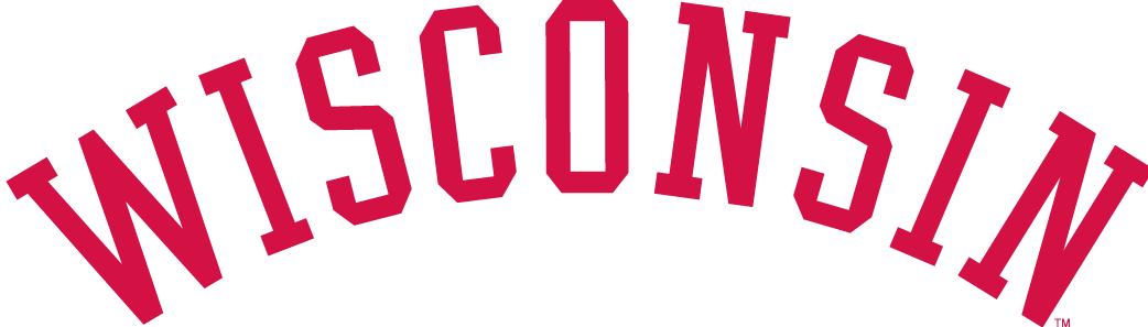 Wisconsin Badgers Logo Wordmark Logo (1970-1991) -  SportsLogos.Net