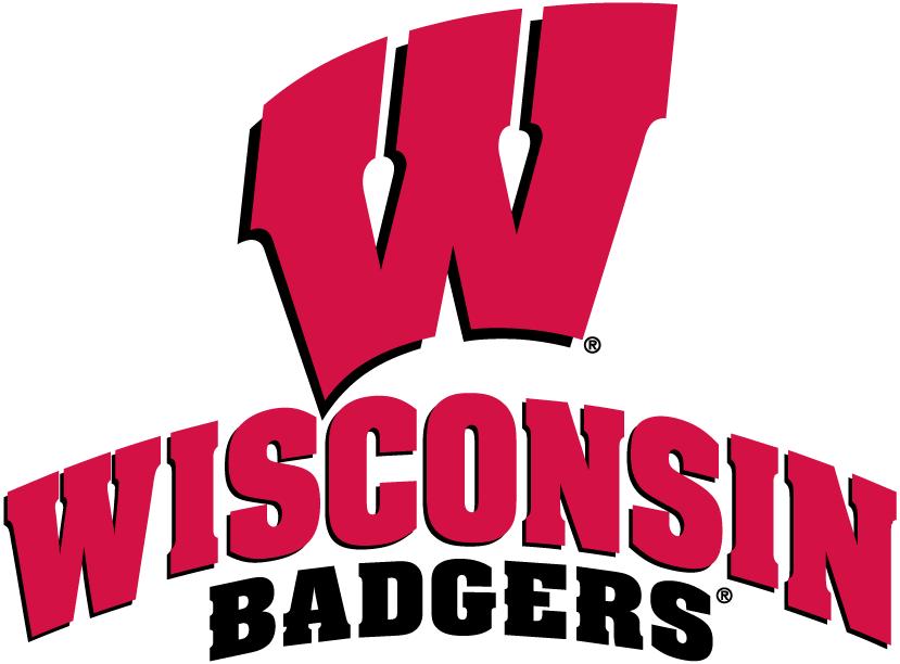 Wisconsin Badgers Logo Alternate Logo (2003-2017) - Red W over script SportsLogos.Net