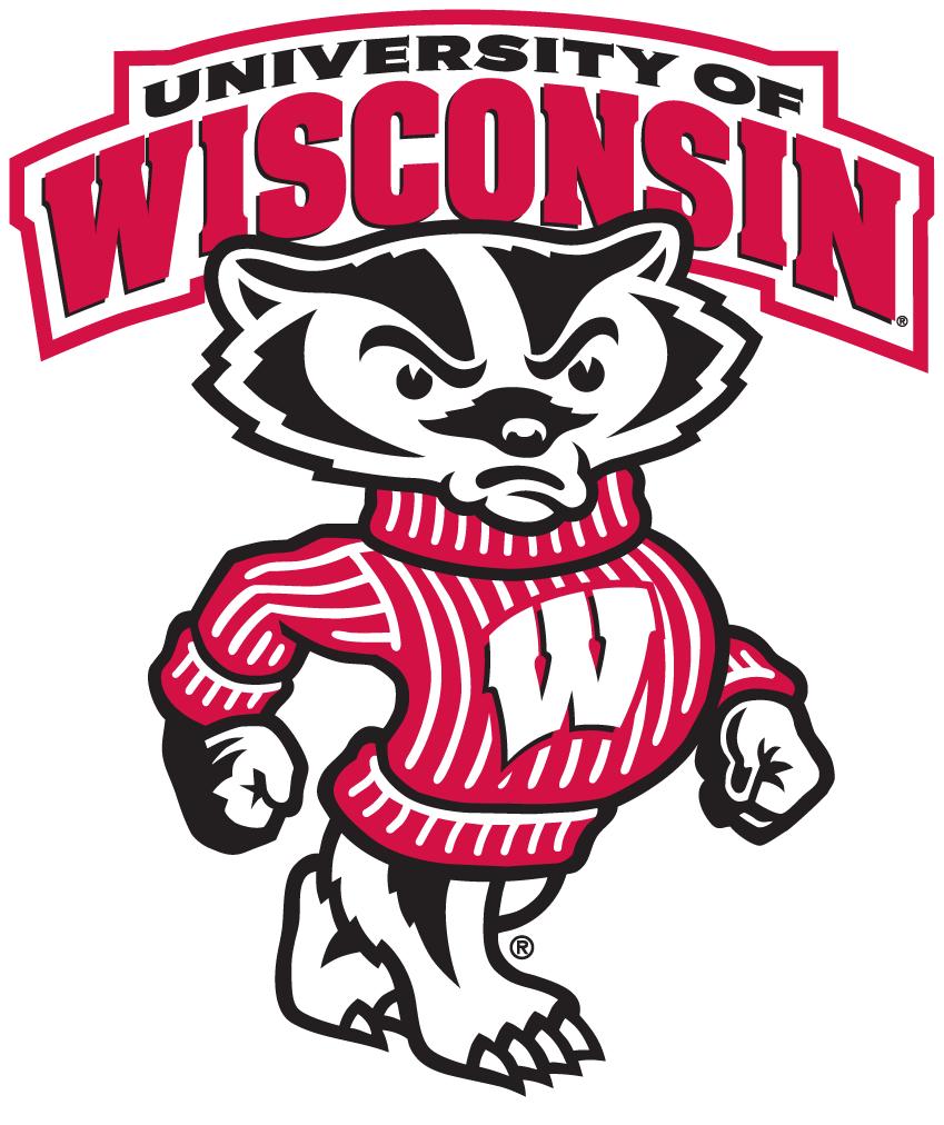Wisconsin Badgers Logo Secondary Logo (2003-2017) -  SportsLogos.Net