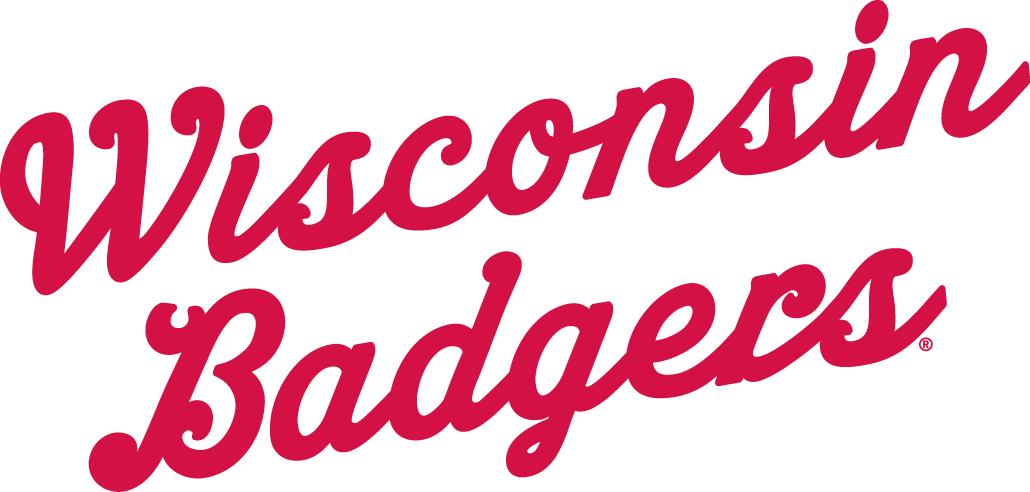 Wisconsin Badgers Logo Wordmark Logo (1961-1969) -  SportsLogos.Net