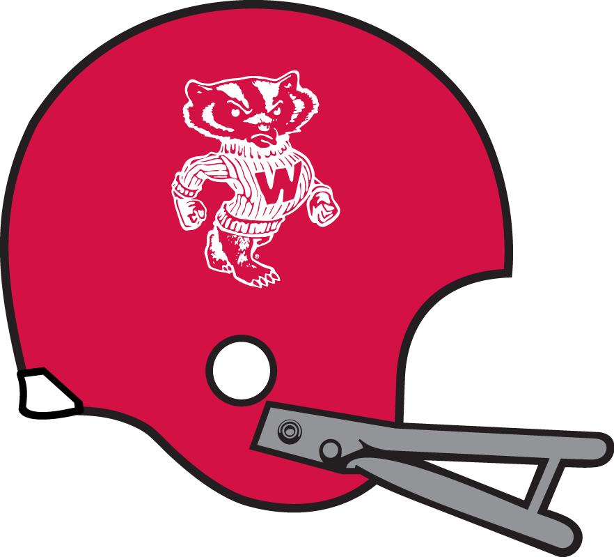 Wisconsin Badgers Helmet Helmet (1967-1969) -  SportsLogos.Net