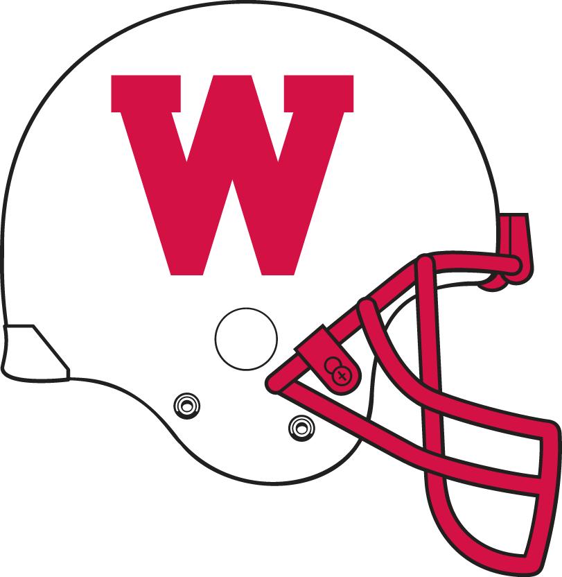 Wisconsin Badgers Helmet Helmet (1988-1989) -  SportsLogos.Net