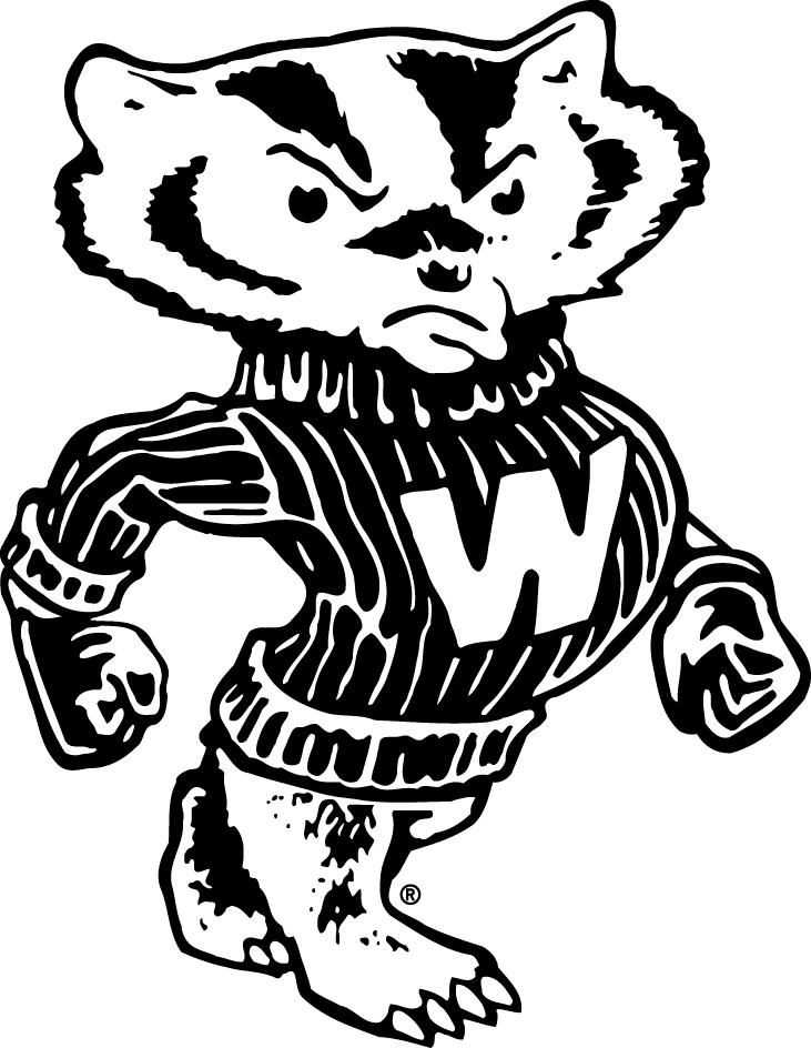 Wisconsin Badgers Secondary Logo - NCAA Division I (u-z ...