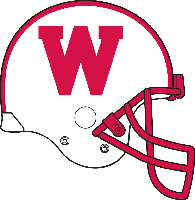 Wisconsin Badgers Helmet Helmet (1990) -  SportsLogos.Net
