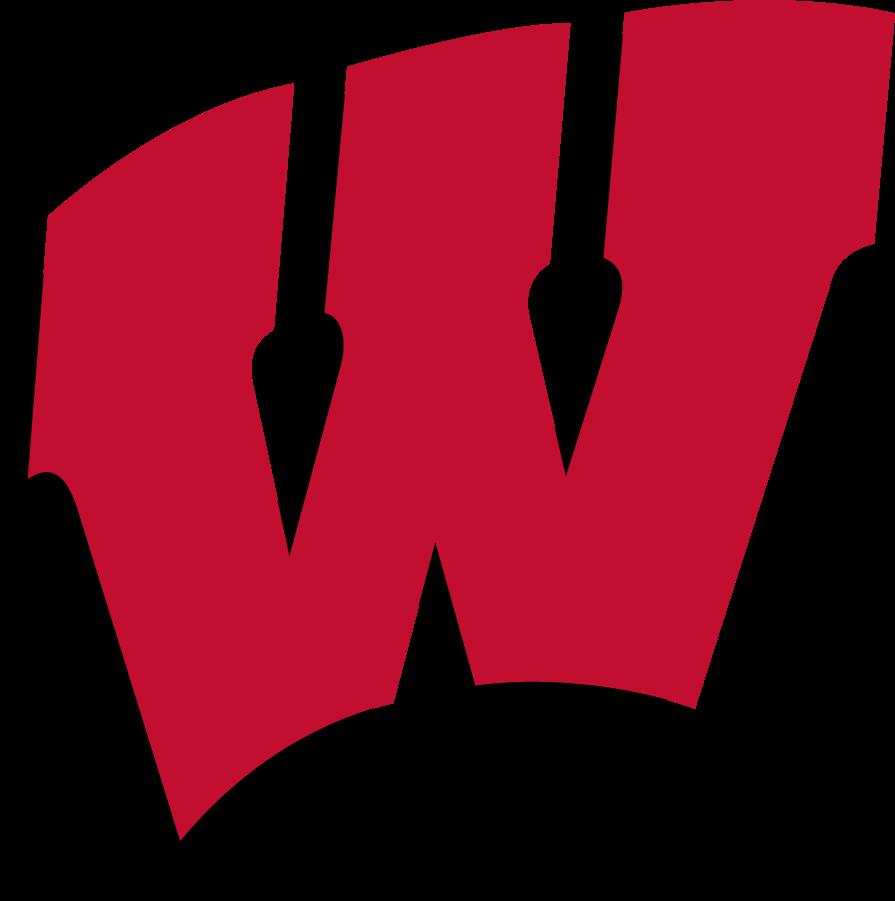 Wisconsin Badgers Logo Primary Logo (1991-2017) - Motion W SportsLogos.Net
