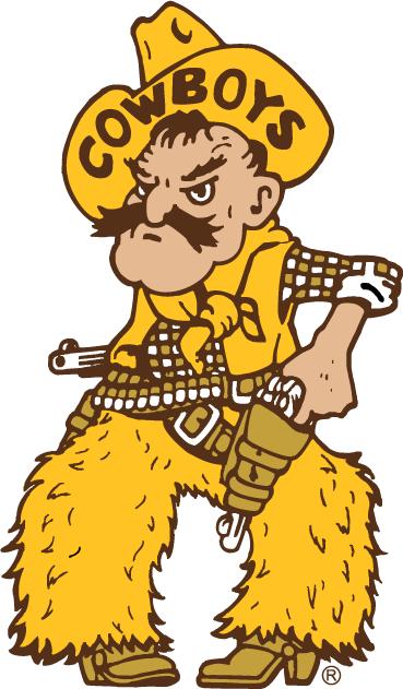 Wyoming Cowboys Mascot Logo (2006) - Pistol Pete logo