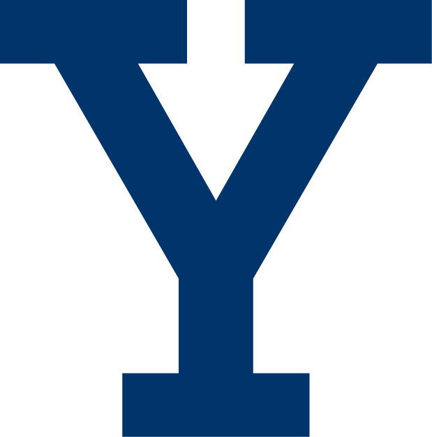 Yale Bulldogs Logo Primary Logo (1901-1972) - Block Y logo. Essentially has always been the face of the athletics program. Most likely was used sooner into the 1800s. Can be seen on sweaters and uniforms in the 1900s, 1910s, 1920s, and beyond.  SportsLogos.Net