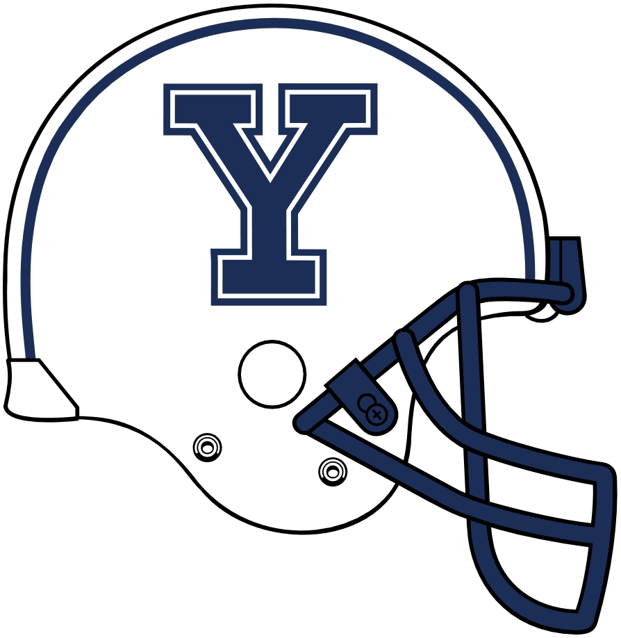 Yale Bulldogs Helmet Helmet (1997-2011) -  SportsLogos.Net