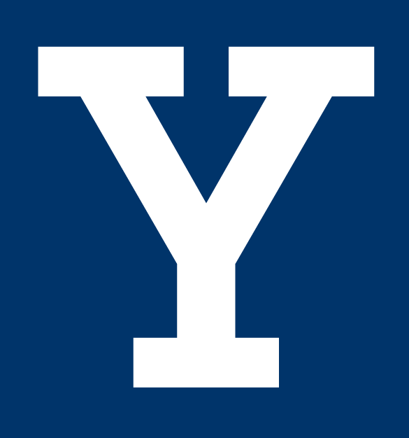 Yale Bulldogs Logo Primary Dark Logo (1901-1972) - Block Y logo. Essentially has always been the face of the athletics program. Most likely was used sooner into the 1800s. Can be seen on sweaters and uniforms in the 1900s, 1910s, 1920s, and beyond.  SportsLogos.Net