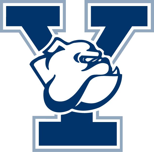 Yale Bulldogs Logo Alternate Logo (1997-2019) - Y Bulldog with lighter blue outline. SportsLogos.Net