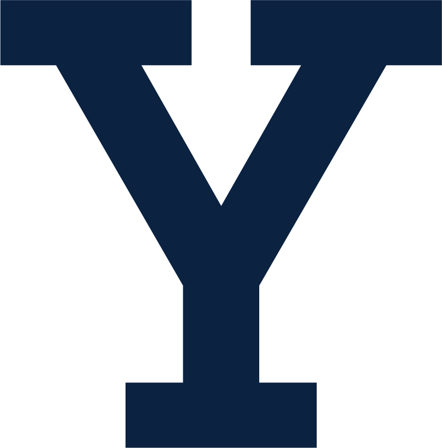 Yale Bulldogs Logo Alternate Logo (1972-Pres) - Block Y in Yale Blue. SportsLogos.Net