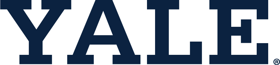 Yale Bulldogs Logo Wordmark Logo (1935-Pres) - The Block Yale wordmark is the second most recognizable mark of Yale athletics behind the Block Y logo. Seen as early as 1935, most likely was used on their athletics uniform prior. SportsLogos.Net
