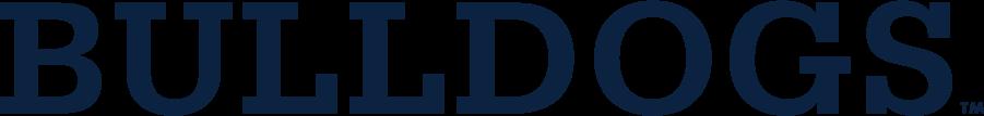 Yale Bulldogs Logo Wordmark Logo (2019-Pres) - Bulldogs wordmark. SportsLogos.Net