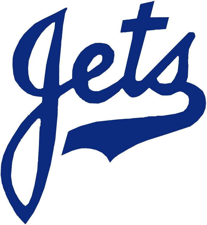 Columbus Jets Logo Primary Logo (1955-1961) -  SportsLogos.Net