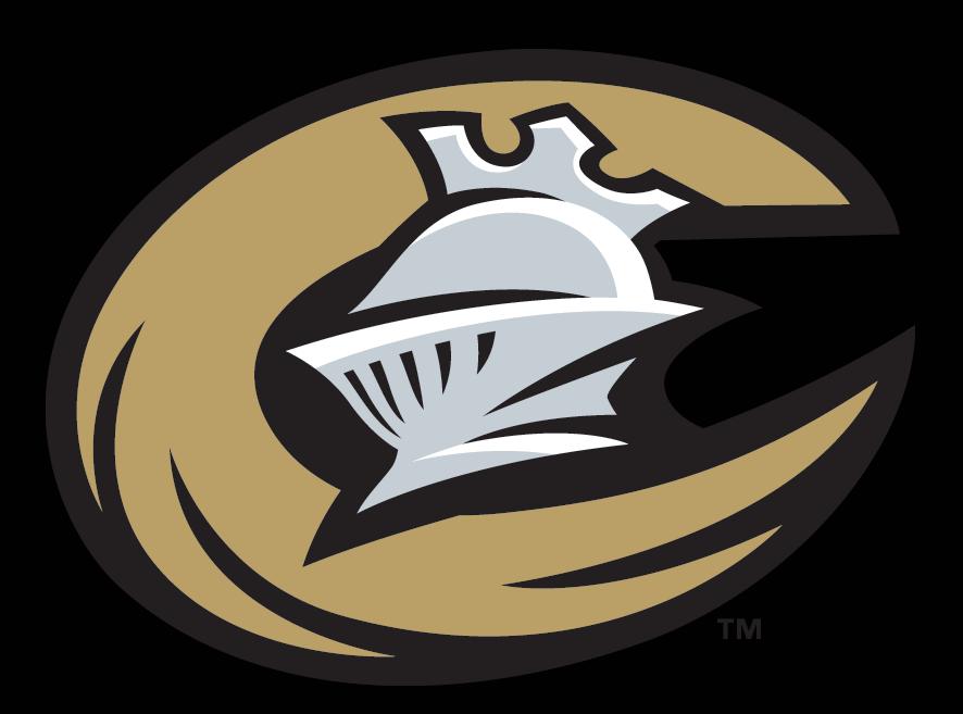 Charlotte Knights Logo Cap Logo (2014-Pres) - Charlotte Knights home cap. A silver knight helmet inside a golden C on black SportsLogos.Net