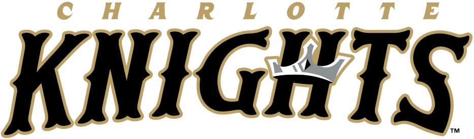 Charlotte Knights Logo Wordmark Logo (2014-Pres) -  SportsLogos.Net