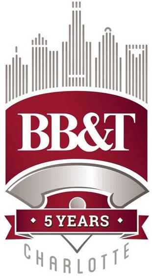 Charlotte Knights Logo Stadium Logo (2018) - Charlotte Knights BB&T Ballpark 5th Season anniversary logo  SportsLogos.Net