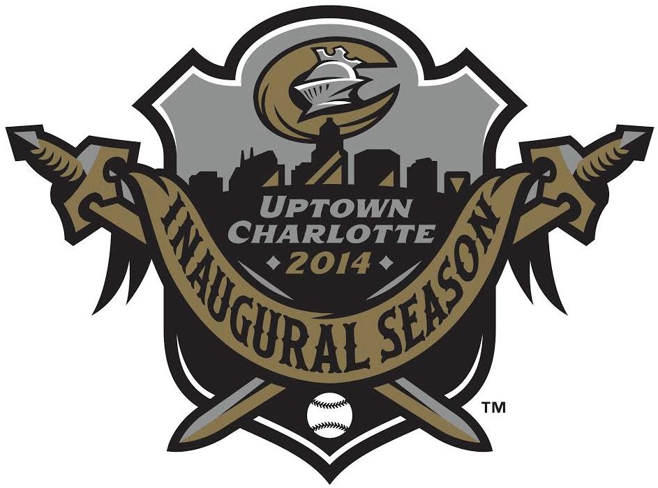 Charlotte Knights Logo Stadium Logo (2014) - Uptown Charlotte - BB&T Stadium Inaugural Season 2014 Logo SportsLogos.Net