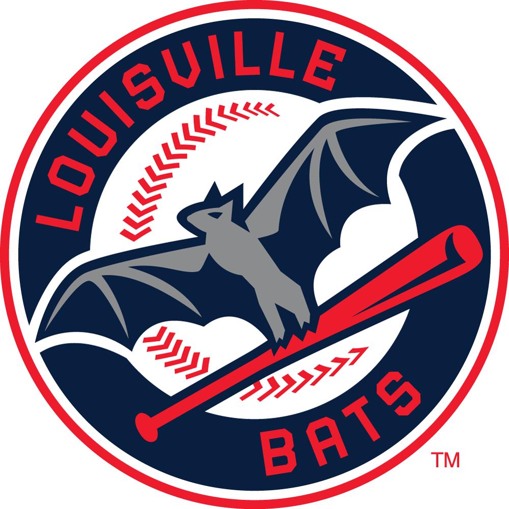 Louisville Bats Logo Primary Logo (2016-Pres) -  SportsLogos.Net