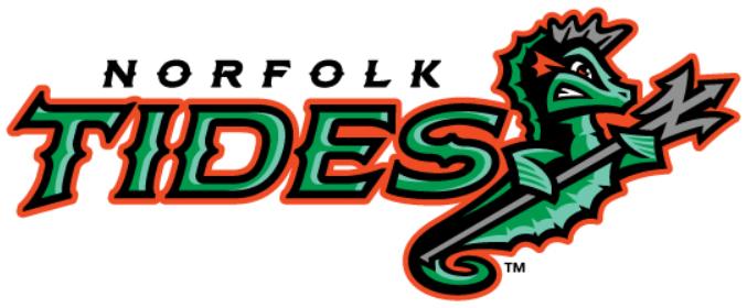 Norfolk Tides Logo Primary Logo (2016-Pres) -  SportsLogos.Net