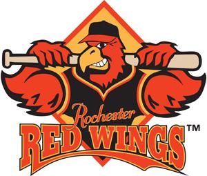 Rochester Red Wings Logo Primary Logo (1997-2013) -  SportsLogos.Net