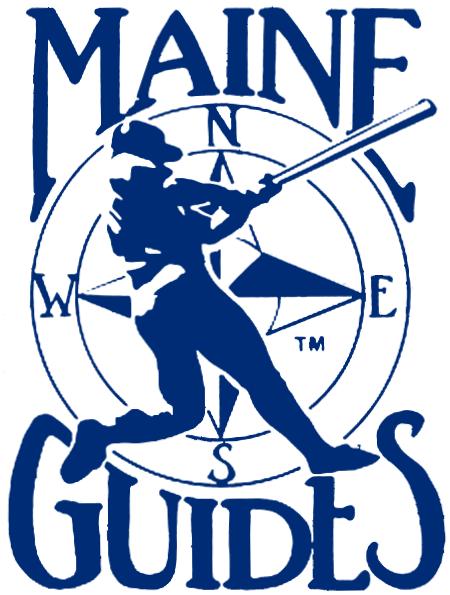 Maine Guides Logo Primary Logo (1984-1987) -  SportsLogos.Net