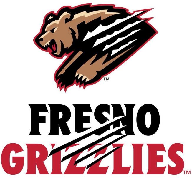 Fresno Grizzlies Logo Primary Logo (2019-Pres) -  SportsLogos.Net