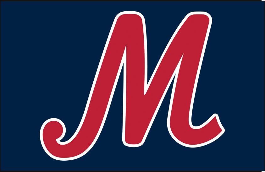 Memphis Redbirds Logo Cap Logo (2015-2016) - Road and alternate cap SportsLogos.Net