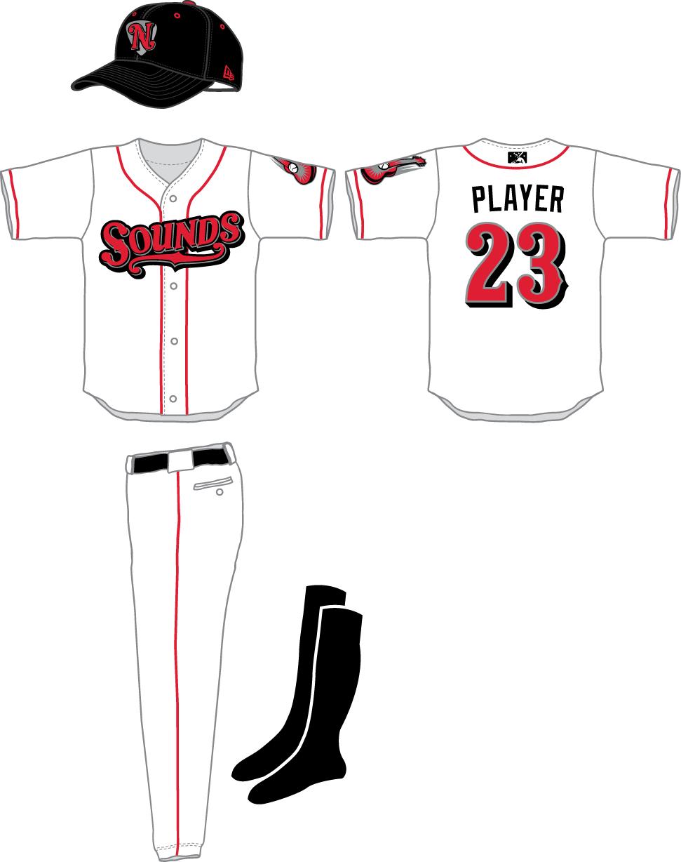 Nashville Sounds Uniform Home Uniform (2015-2018) -  SportsLogos.Net