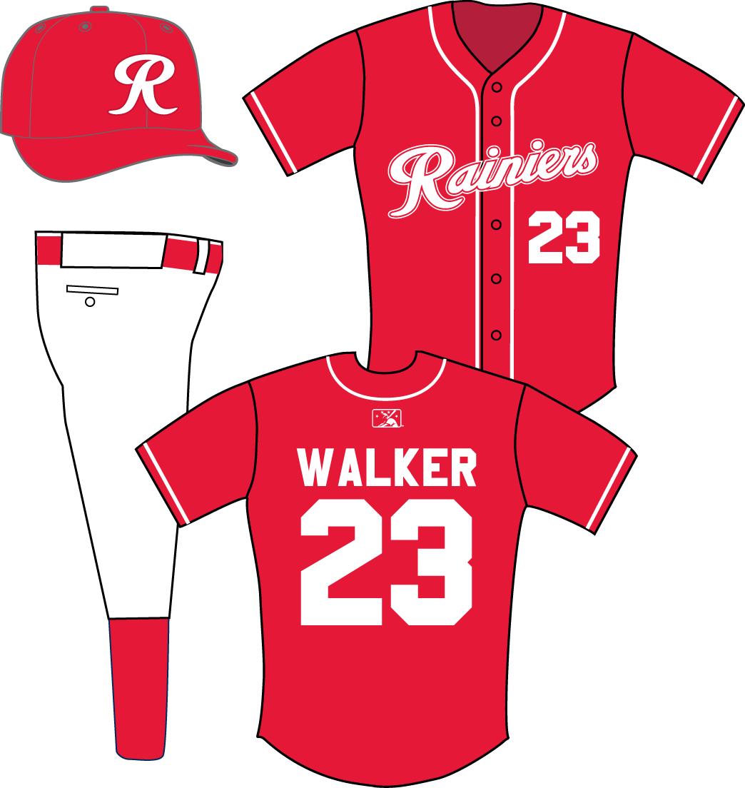 Tacoma Rainiers Uniform Alternate Uniform (2015-Pres) -  SportsLogos.Net