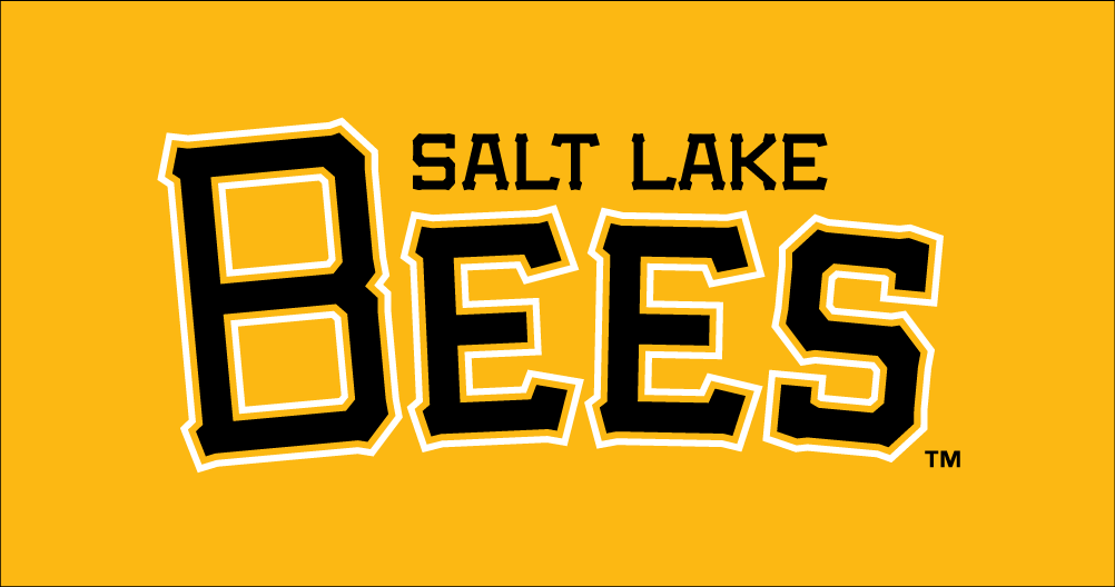 Salt Lake Bees Logo Wordmark Logo (2015-Pres) -  SportsLogos.Net