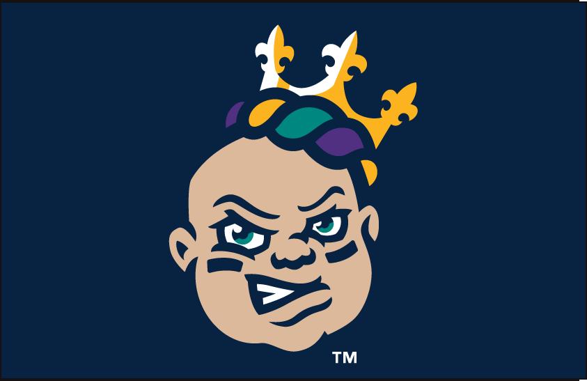 New Orleans Baby Cakes Logo Cap Logo (2017-Pres) - Home Cap logo SportsLogos.Net