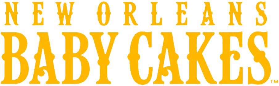 New Orleans Baby Cakes Logo Wordmark Logo (2017-Pres) -  SportsLogos.Net