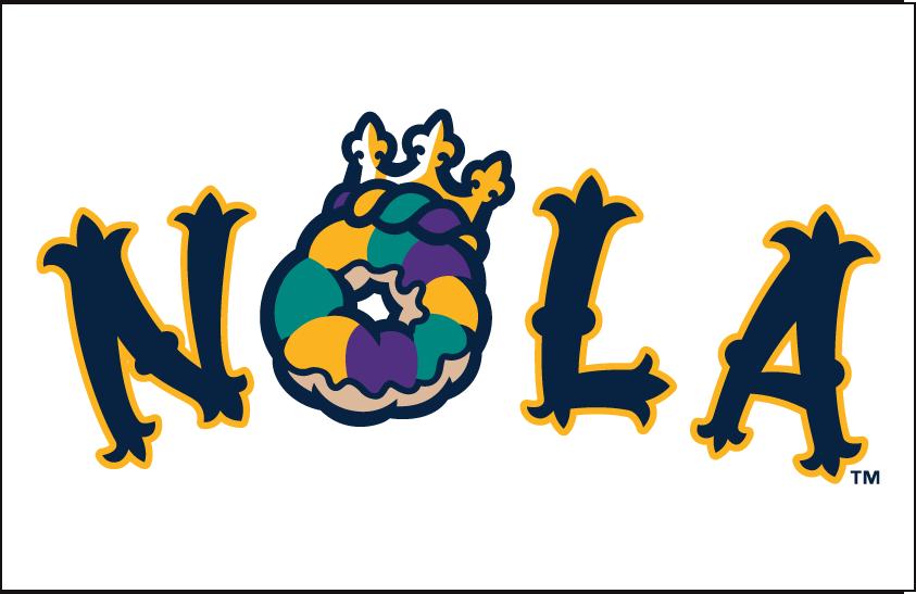 New Orleans Baby Cakes Logo Jersey Logo (2017-Pres) -  SportsLogos.Net