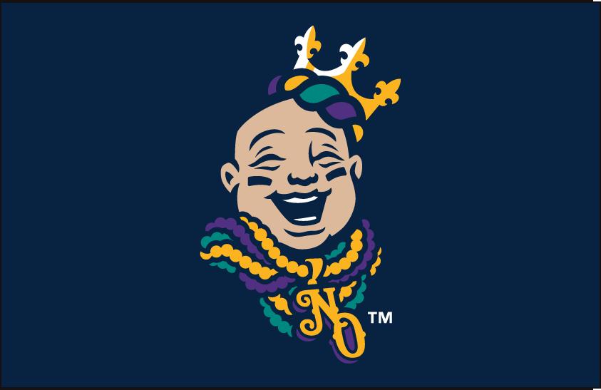 New Orleans Baby Cakes Logo Cap Logo (2017-Pres) -  SportsLogos.Net