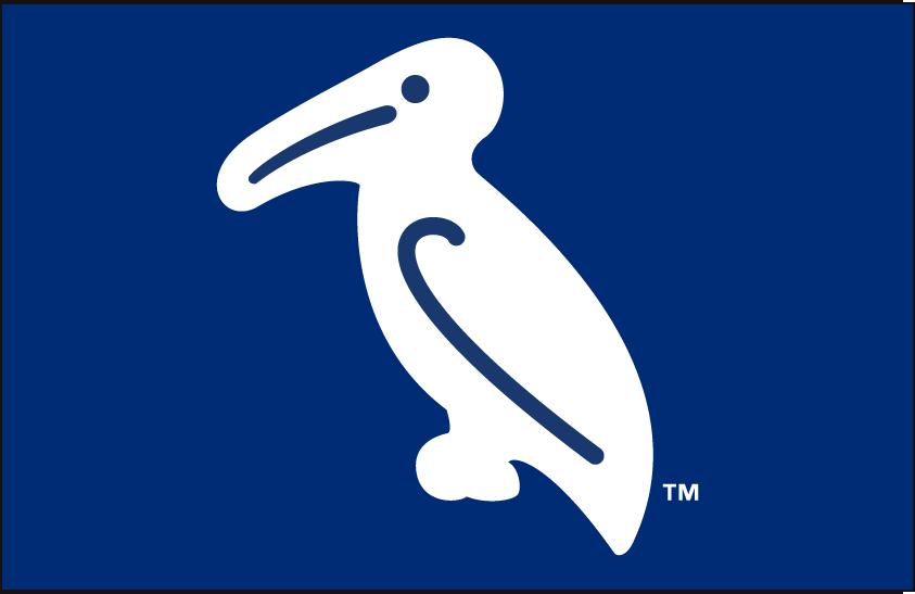 New Orleans Baby Cakes Logo Cap Logo (2017-Pres) - New Orleans Pelicans Throwback Cap SportsLogos.Net