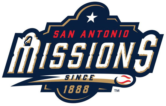 San Antonio Missions Logo Primary Logo (2019-Pres) - Using the same logo and nickname as San Antonio's previous minor league team who played in the double A Texas League until 2018 SportsLogos.Net