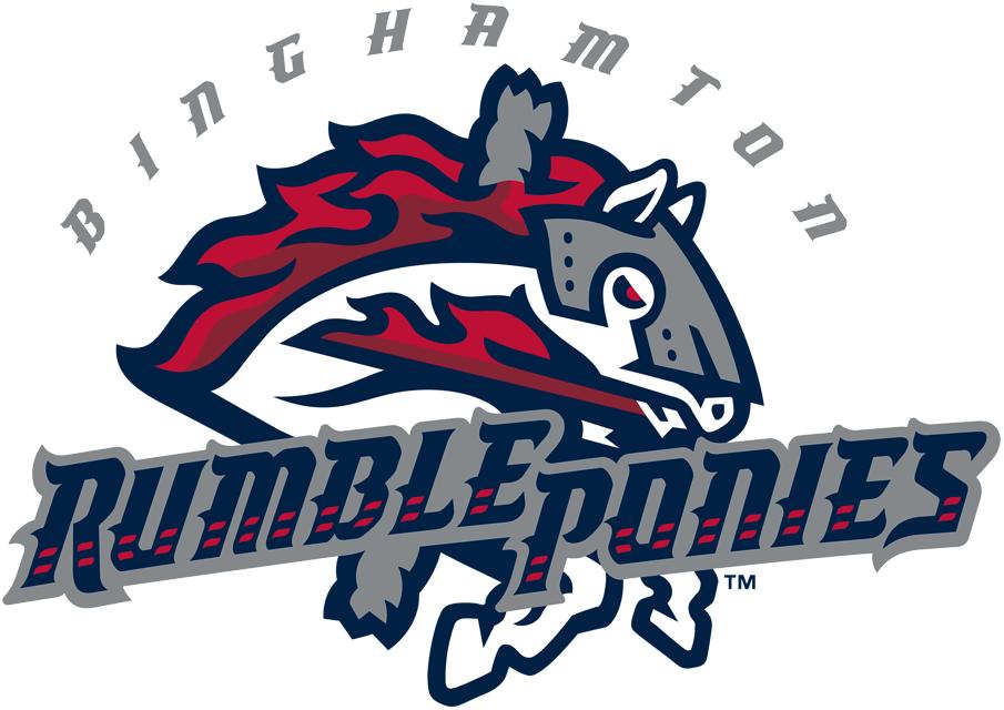 Binghamton Rumble Ponies Logo Primary Logo (2017-Pres) -  SportsLogos.Net