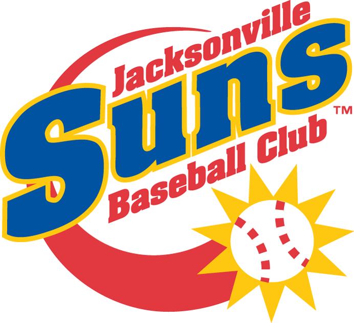 Jacksonville Suns Logo Primary Logo (1991-2003) -  SportsLogos.Net