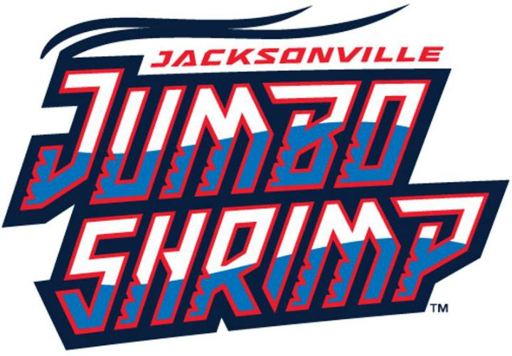 Jacksonville Jumbo Shrimp Logo Wordmark Logo (2017-Pres) -  SportsLogos.Net