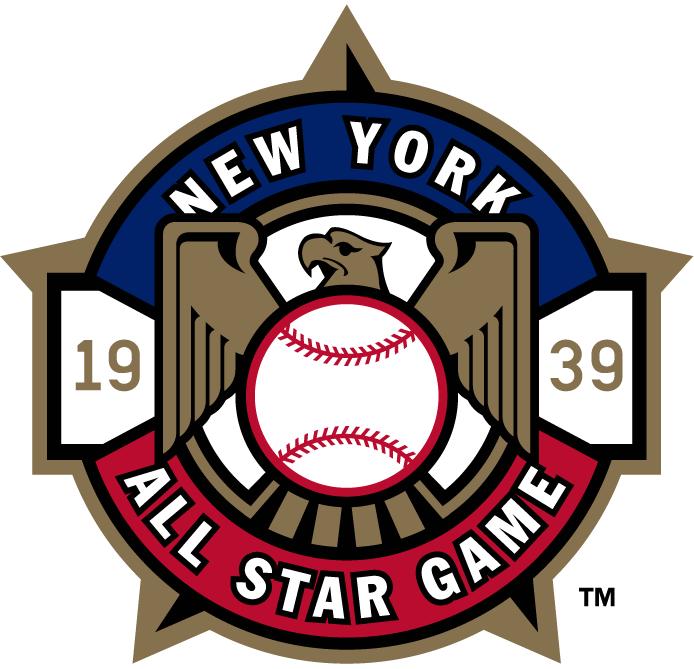 MLB All-Star Game Logo Misc Logo (1939) - 1939 MLB All-Star Game at Yankee Stadium in New York, New York.......................................................................Modern era themed logo SportsLogos.Net
