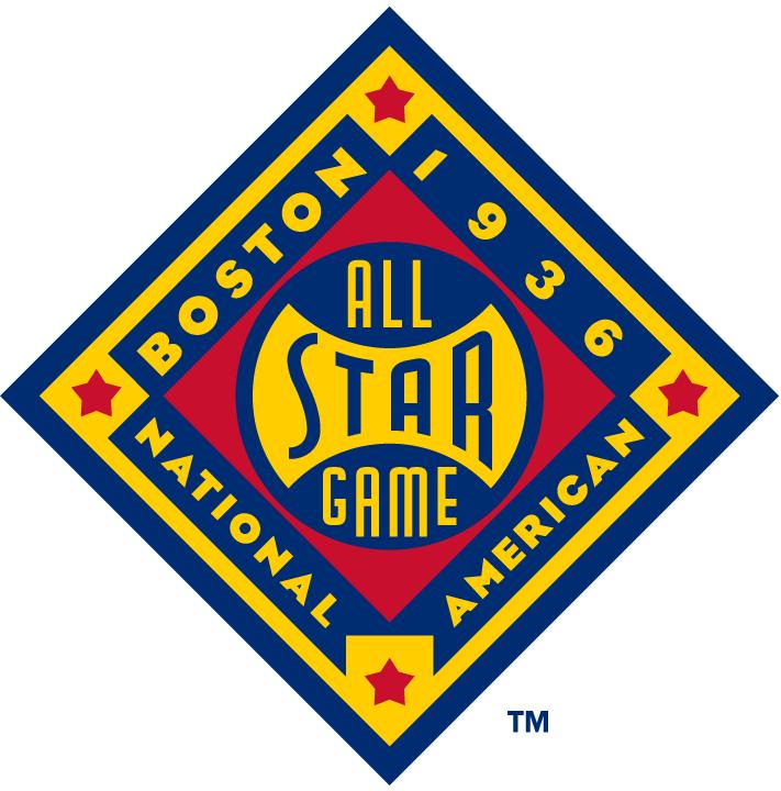 MLB All-Star Game Logo Misc Logo (1936) - 1936 MLB All-Star Game at National League Park in Boston, Massachusetts............................................................Modern era themed logo. SportsLogos.Net
