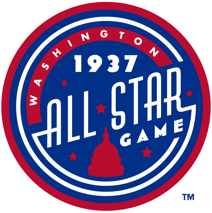 MLB All-Star Game Logo Misc Logo (1937) - 1937 MLB All-Star Game at Griffith Stadium in Washington, DC.........................................................................Modern era themed logo. SportsLogos.Net