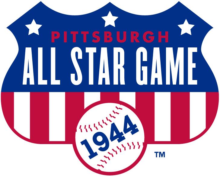 MLB All-Star Game Logo Misc Logo (1944) - 1944 MLB All-Star Game at Forbes Field in Pittsburgh, Pennsylvania..............................................................Modern era themed logo SportsLogos.Net