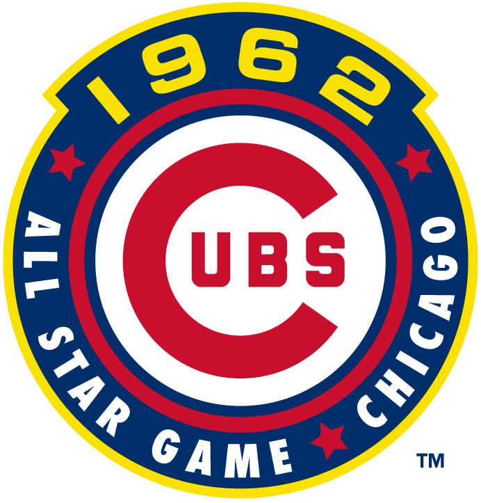 MLB All-Star Game Logo Misc Logo (1962) - 1962 MLB All-Star Game at Wrigley Field in Chicago, Illinois.................................................................Modern era themed logo SportsLogos.Net